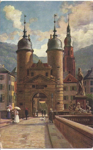 Heidelberg - Bridge Tower
