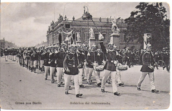 Berlin - Changing of the Palace Guard