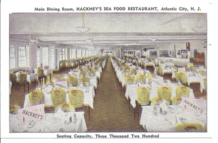 Atlantic City, NJ - Hackneys Seafood Restaurant