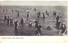 Edgemere, MD - Bay Shore State Park - Bathing Scene