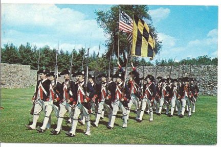 Allegany County, MD - 1st MD Regiment at Ft Frederick