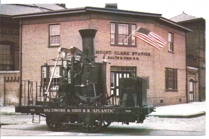 Baltimore, MD - B&O Railroad - Mount Clare Station