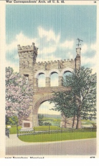 Boonsboro, MD - War Correspondents Arch