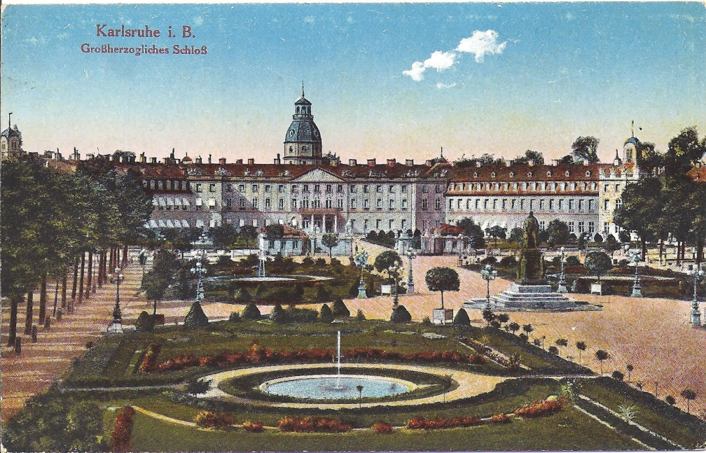 Karlsruhe - Grand Duke's Palace