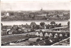 Kehl - View Across Rhine to Strassburg