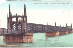 Kehl - Rhine River Bridge