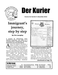Image of Der Kurier front page