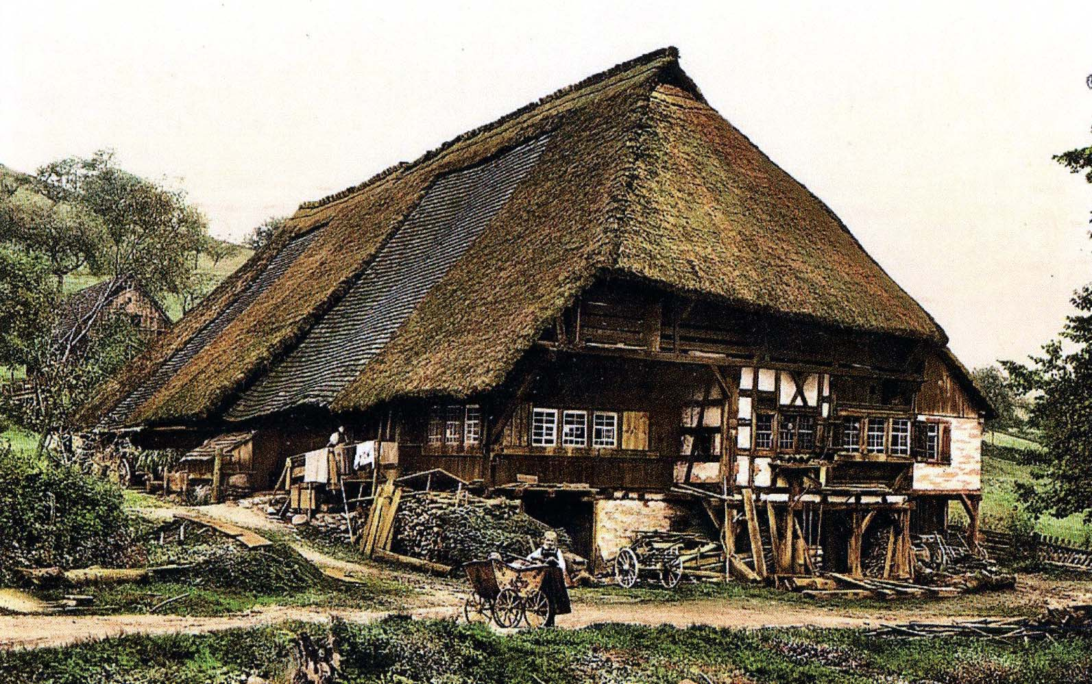 Black Forest Peasant's House